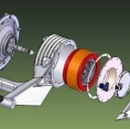 Swingarm and Gearbox