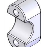 Handle Bar Cap Clamp (both)
