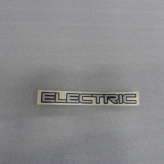 Decal ELECTRIC, Ni