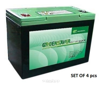 VX-2 SILICON GEL (SLA) Battery Set 60ah