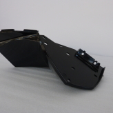Passenger Footrest Panel Left, Piano Black
